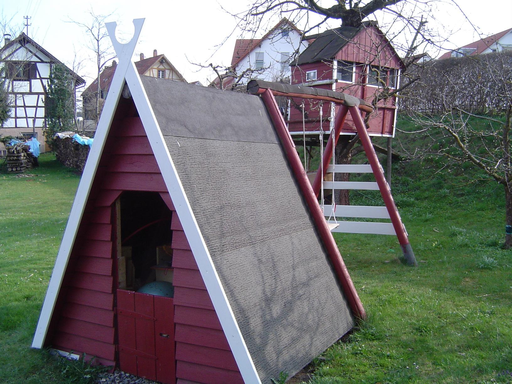 Spielhaus Jochen Selber Bauen Rolands Bauplaene Bauplane Kostenlos
