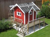 Bekannt Spielhaus Jochen selber bauen - rolands-bauplaene Baupläne kostenlos WL68