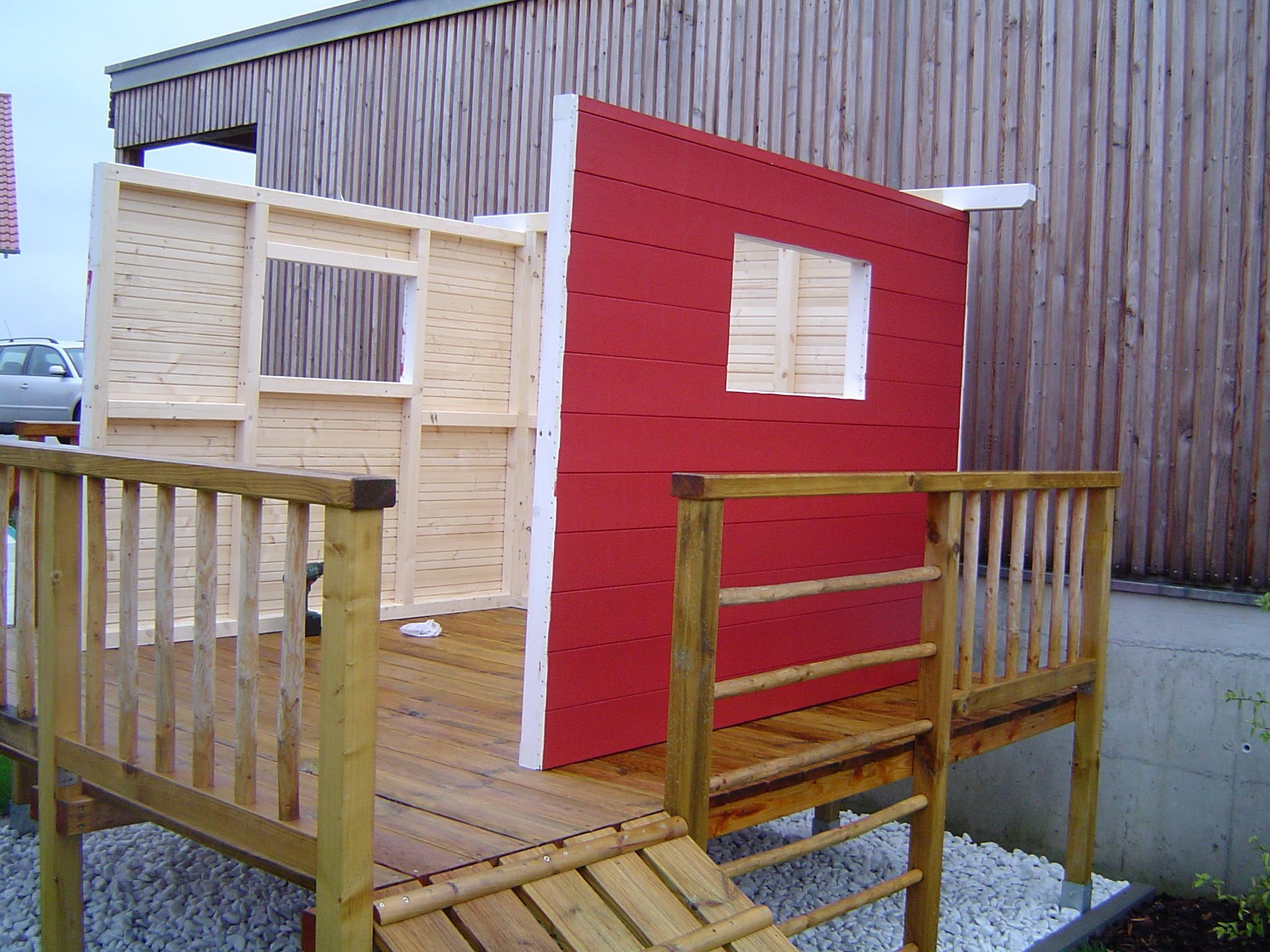 Extrem Spielhaus Alina - rolands-bauplaene Baupläne kostenlos FO55