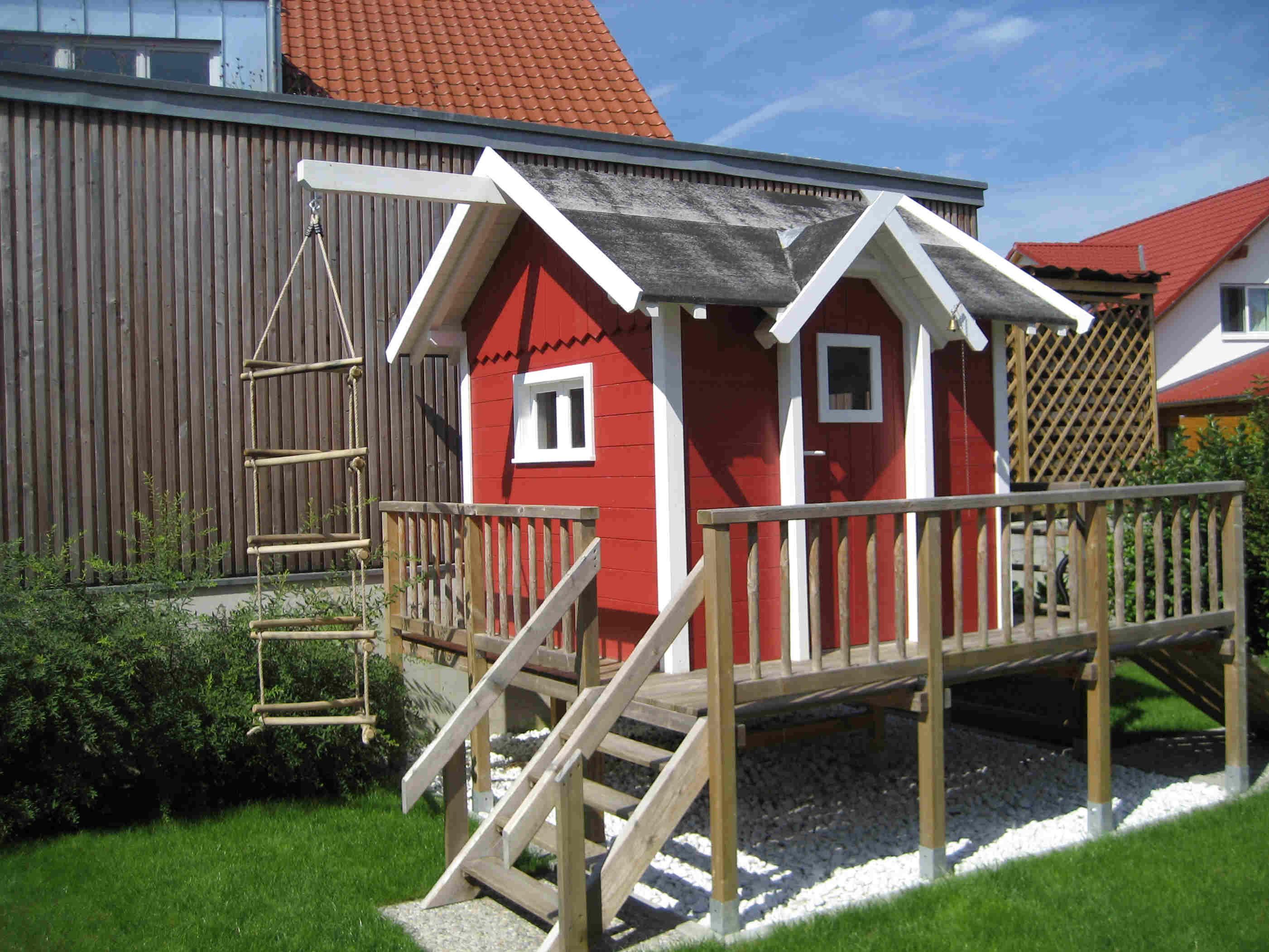 Gut bekannt Spielhaus Alina - rolands-bauplaene Baupläne kostenlos OD68
